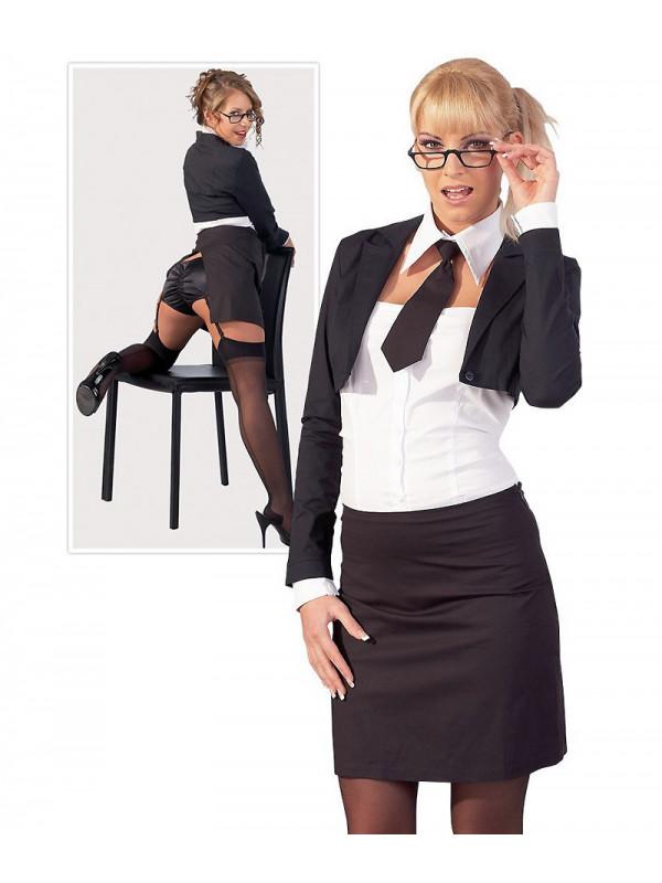 Cottelli Collection Lingerie Disfraz Secretaria Sexy